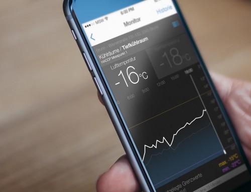 Temperatursteuerung per App.