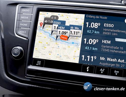 Clever-tanken kooperiert mit Volkswagen.
