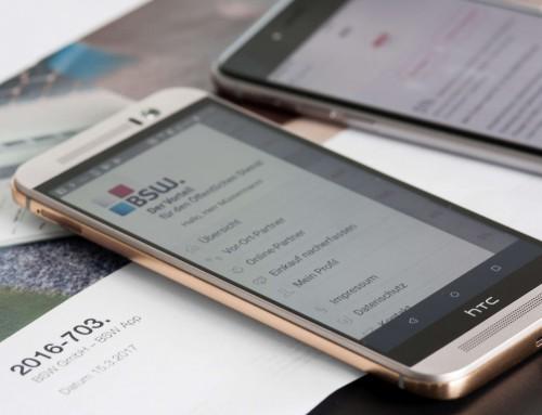 Mobiles Rabattsystem für Beamte.